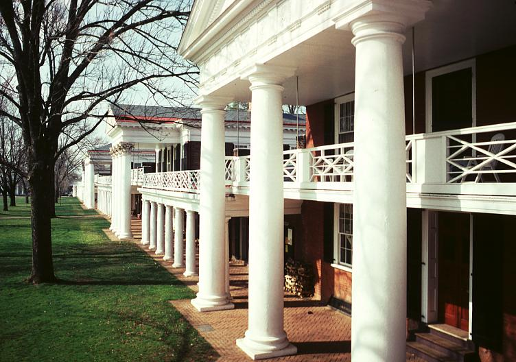 Images Of The Lawn University Of Virginia By Thomas Jefferson