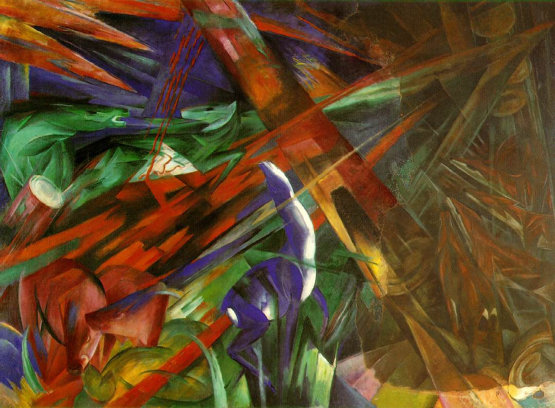 fauvism and expressionism characteristics