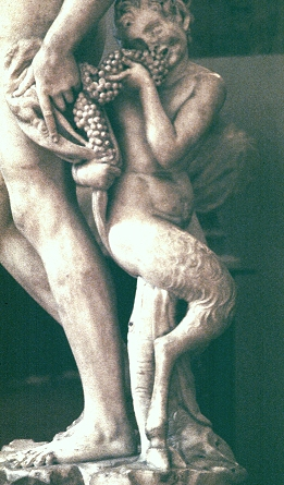 Bacchus By Michelangelo
