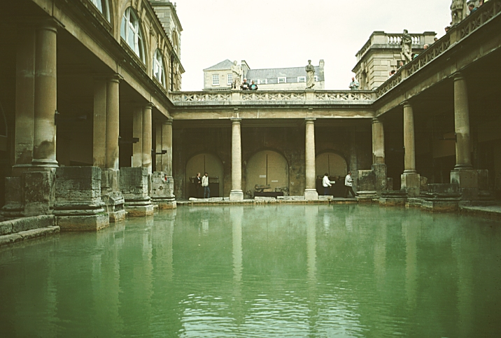 The Great Bath At Floor Level
