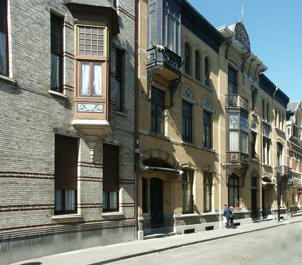 Decorative Windows For Houses Images Of Houses In Zurenborg Neighborhood Antwerp