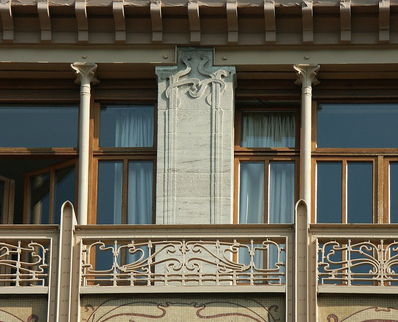 Images of the hotel van eetvelde by victor horta for Hotel moderne belgique