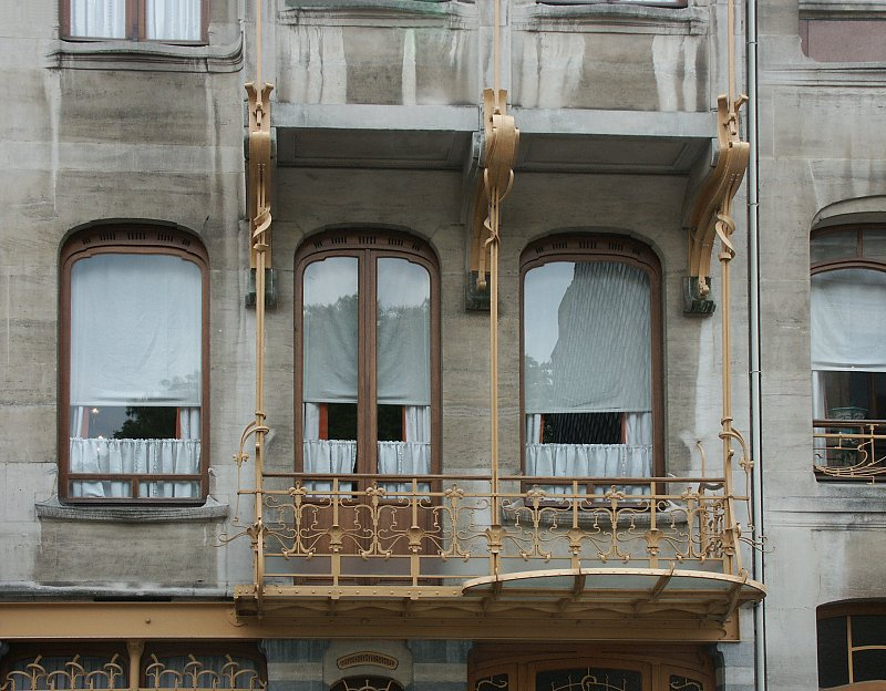 Images Of The Horta House By Victor Horta