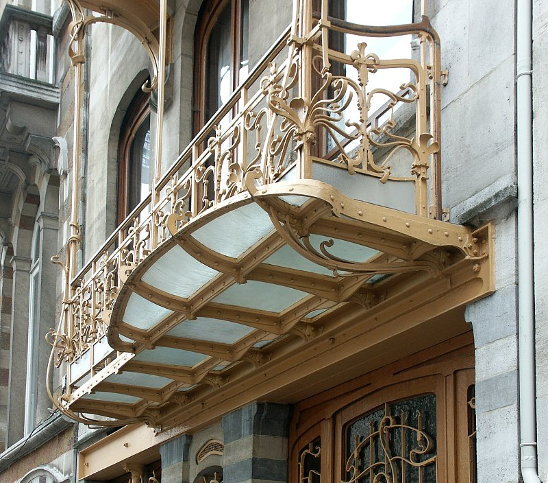 Images of the horta house by victor horta for Art nouveau fenetre