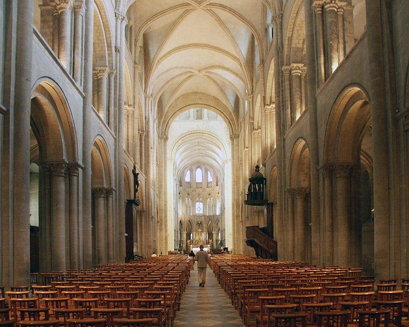 L Abbaye Aux Hommes Caen France
