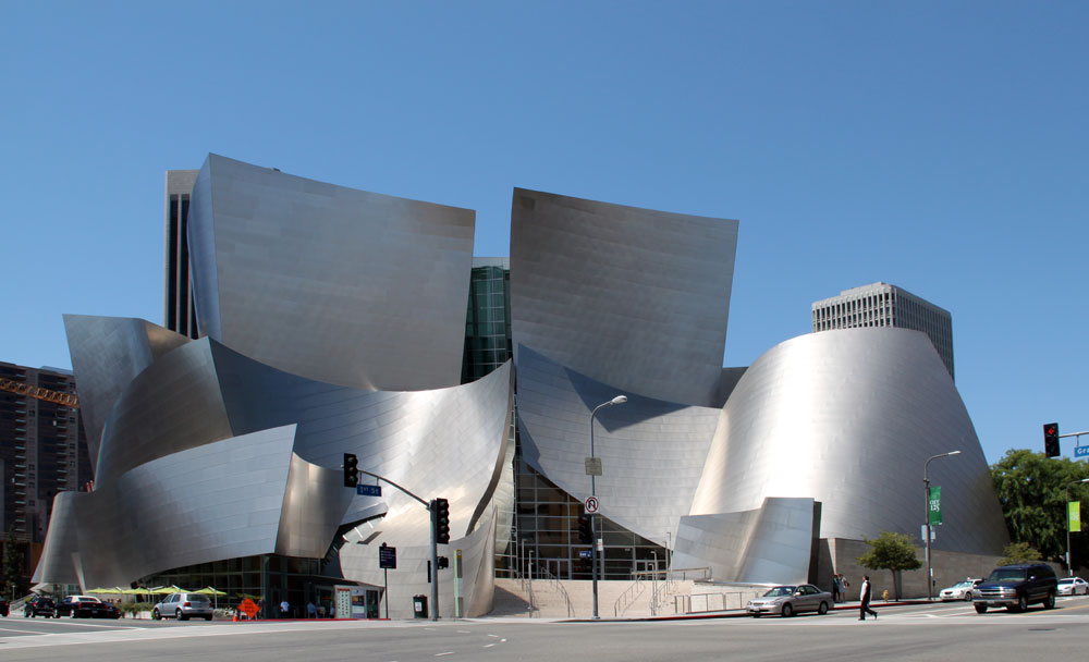 Images Of Walt Disney Concert Hall By Frank Gehry