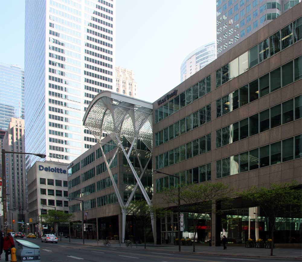 Toronto Canada Modern Houses: Images Of The Albert Lambert Galleria, Formerly BCE Place