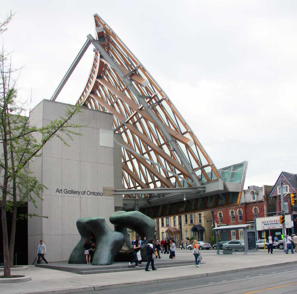 Toronto Canada Modern Houses: Images Of The Art Gallery Of Ontario, Toronto, Ontario
