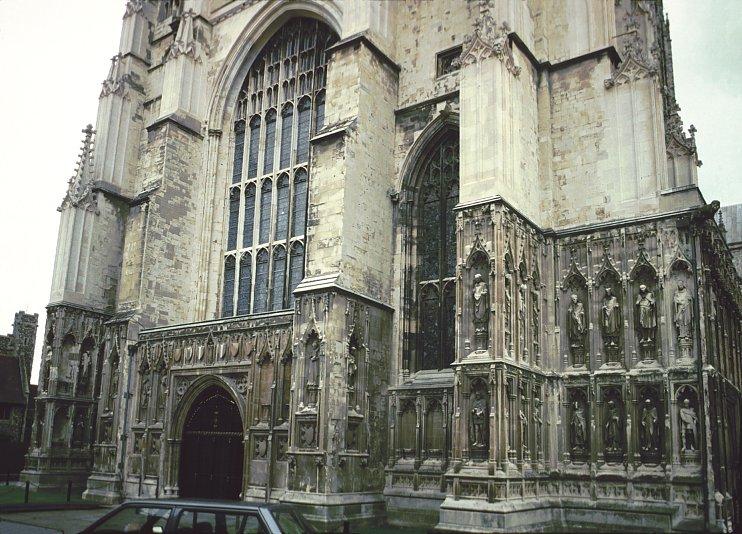 Gothic architecture exterior
