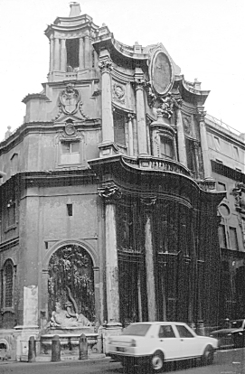 Images Of San Carlo Alle Quattro Fontane Facade By