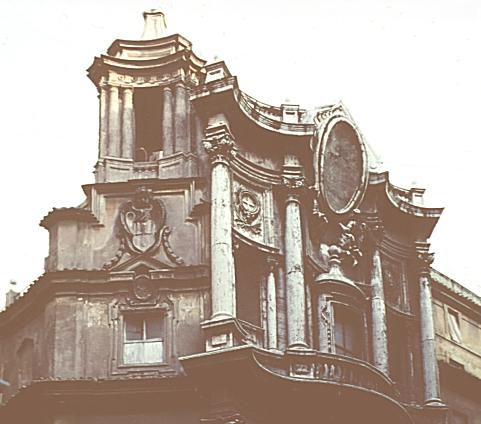Rome San Carlo Alle Quattro Fontane 1638 1667 Ce
