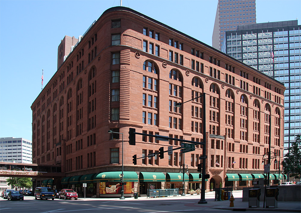 Images Of The Brown Palace Hotel By Frank Edbrooke