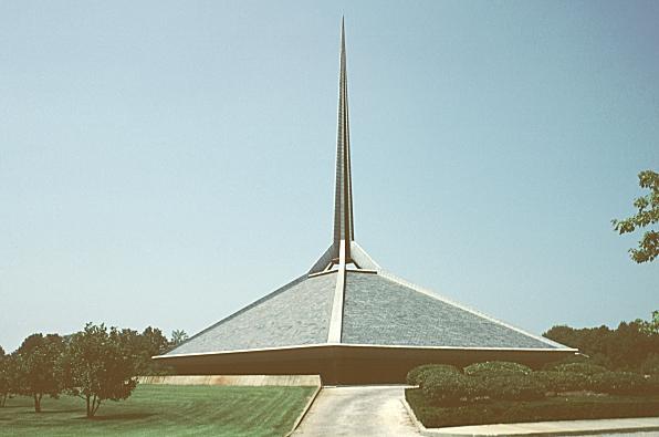 images of north christian church by eero saarinen 1964 columbus