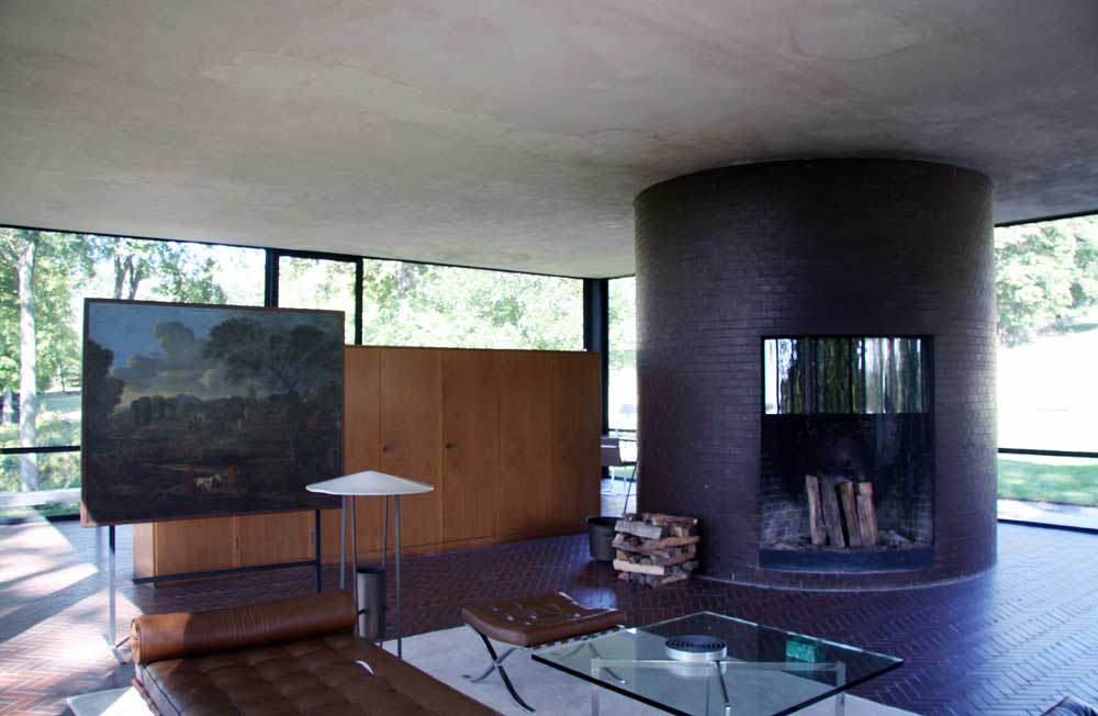 images of glass house compound by philip johnson. Black Bedroom Furniture Sets. Home Design Ideas