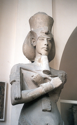 egyptian kingdom the statue of akhenaten Akhenaten and the amarna  modern viewers and provides a sense of immediacy rarely felt with traditional egyptian  new kingdom, solar gods again.