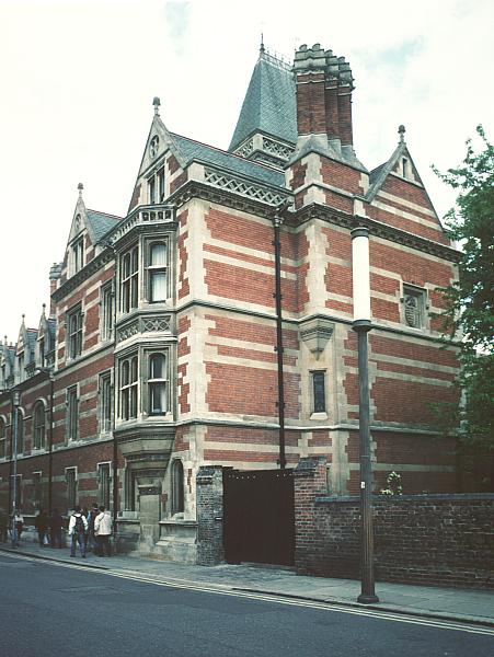 Images Of Red Building And The Library Pembroke College