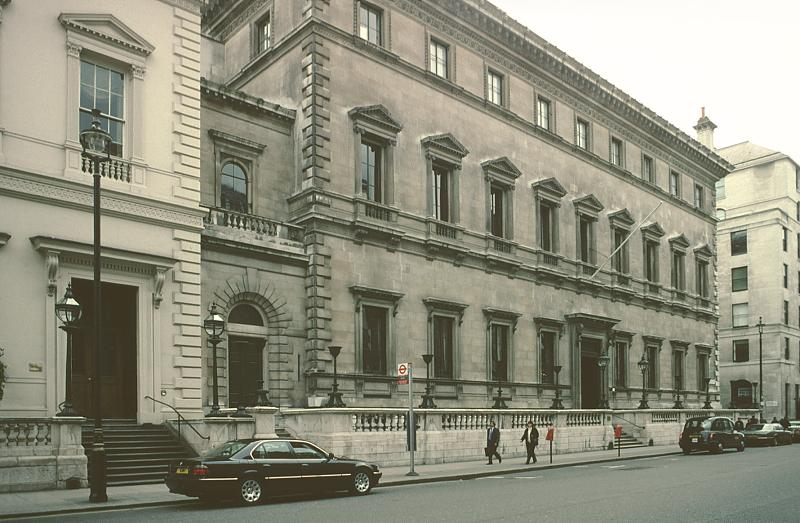 Images Of The Reform Club London By Sir Charles Barry