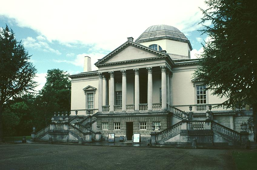 images of chiswick house by lord burlington