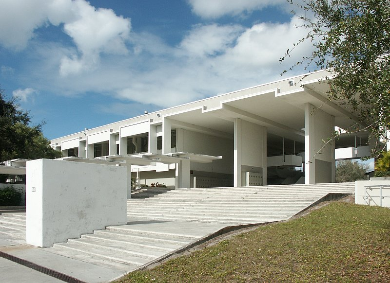 Sarasota high school addition by paul rudolph for Architect florida