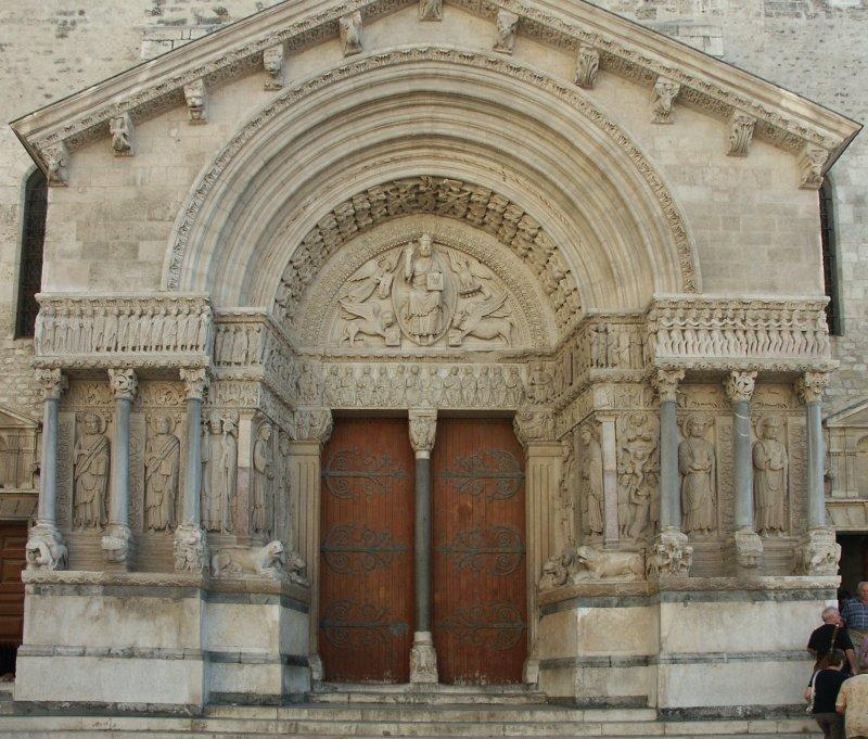 Images Of St Trophime Arles France
