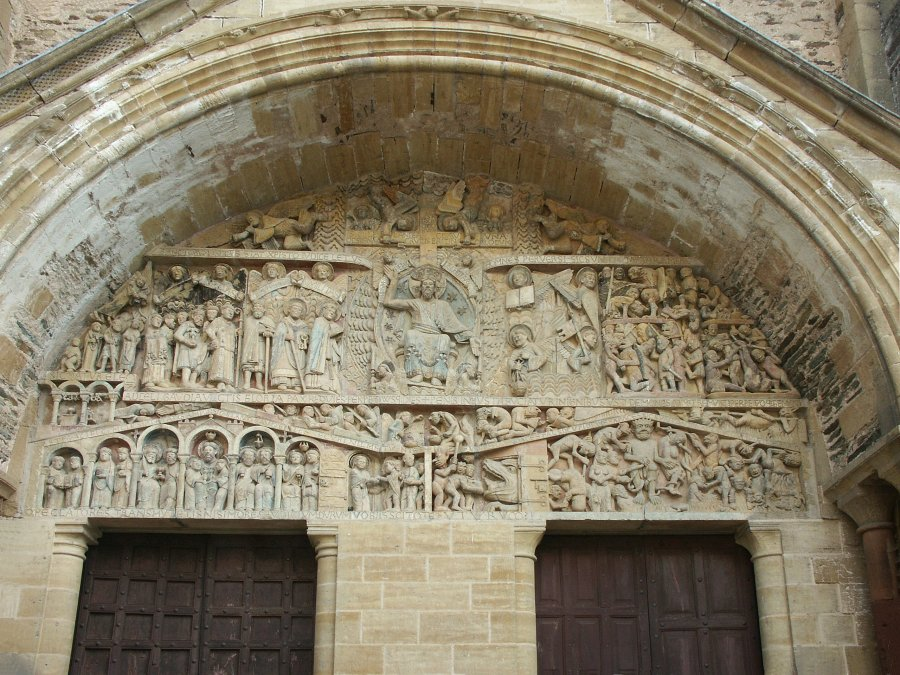 Images of Sainte Foy, Conques, France