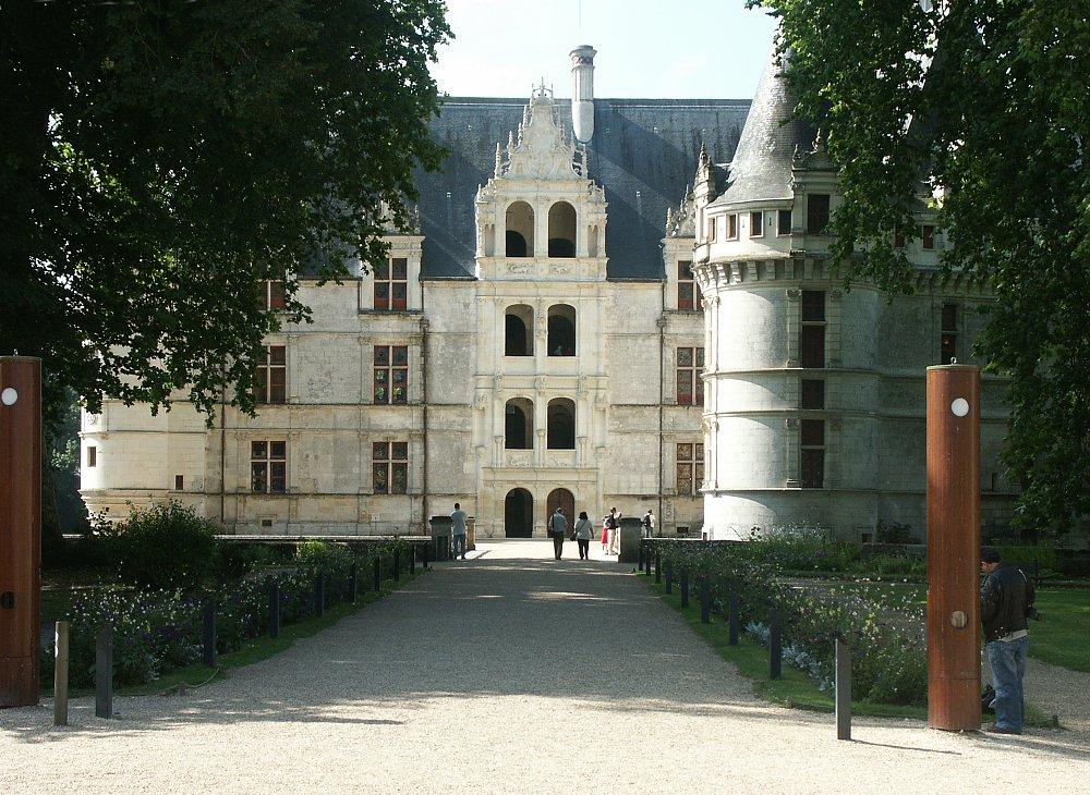 Chateau Azay-le-Rideau, Azay-le-Rideau, France