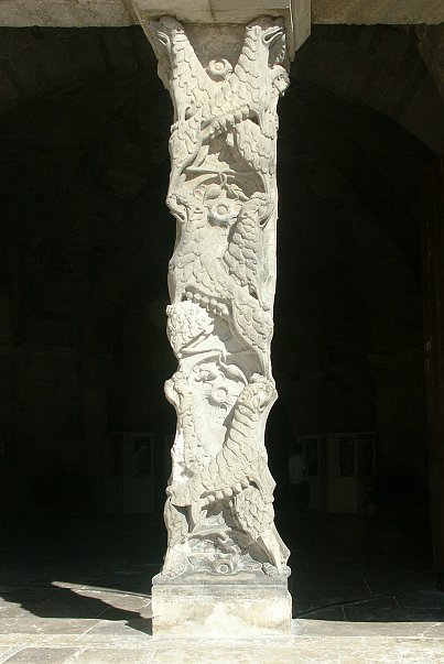 Images Of The Trumeau South Porch St Pierre Moissac France