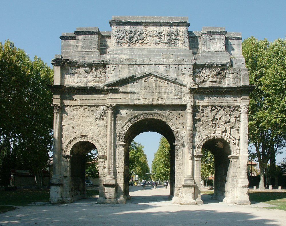 Image result for triumphal arch orange