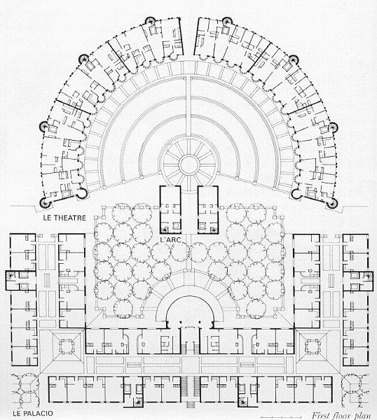 les espaces d abraxas a building of post modernism donalgon. Black Bedroom Furniture Sets. Home Design Ideas