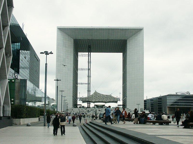 Images of Grande Arche de la Defense by Otto von Spreckelsen in ...