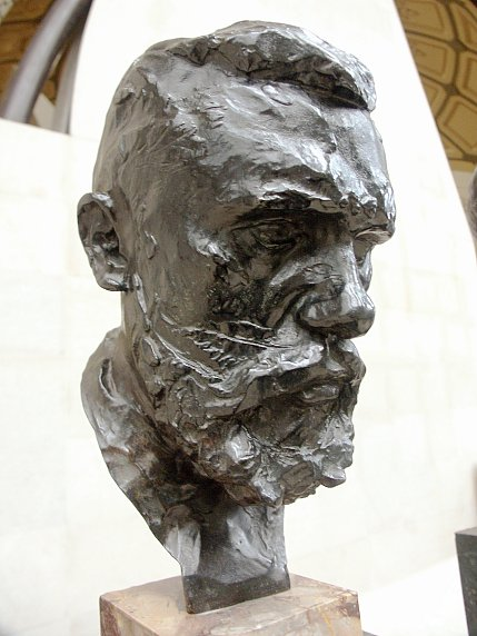 Images of sculpture by Auguste Rodin in the Musee d'Orsay