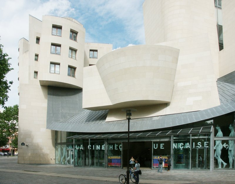images of cinematheque francais former american center by frank gehry. Black Bedroom Furniture Sets. Home Design Ideas