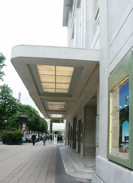 Theatre des champs elysees by auguste perret for Perret architecte