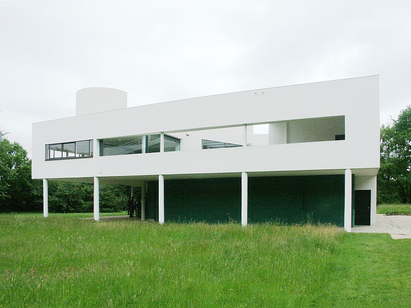 Images of villa savoye by le corbusier for Villas weissenhofsiedlung