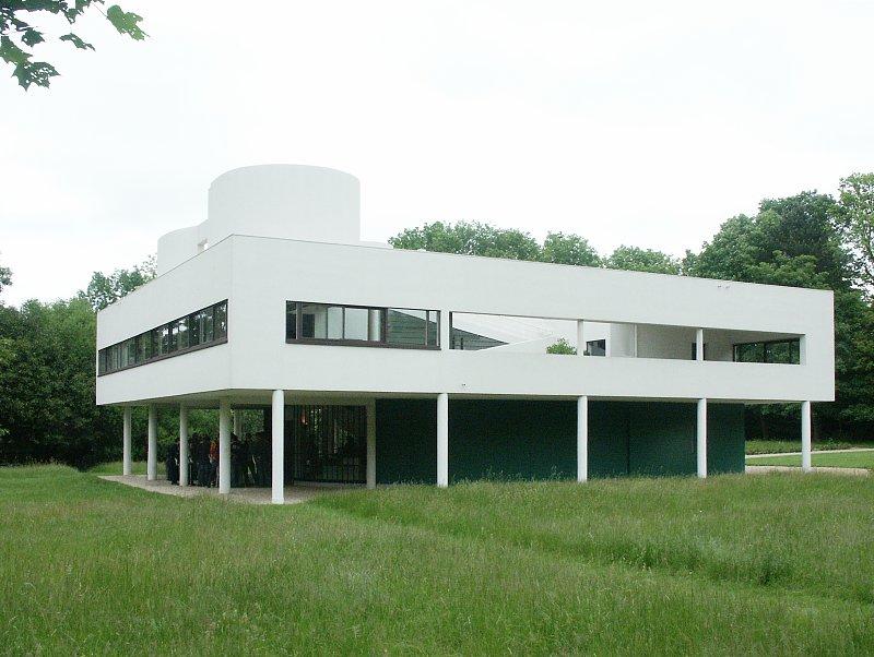 Images of villa savoye by le corbusier - La villa savoye le corbusier ...