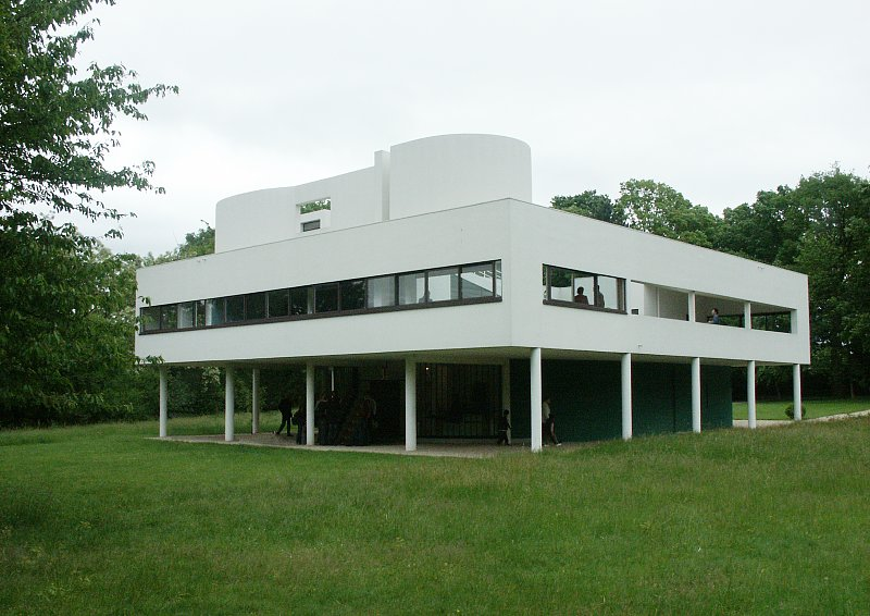Images of villa savoye by le corbusier for Poissy le corbusier