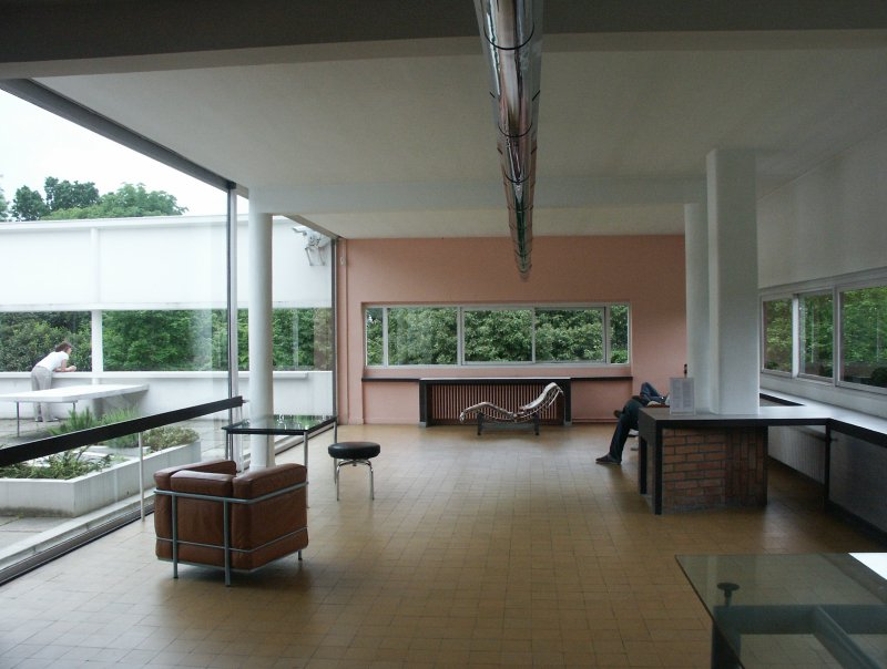 images of villa savoye by le corbusier. Black Bedroom Furniture Sets. Home Design Ideas
