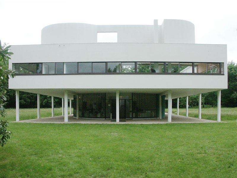 Images of villa savoye by le corbusier - Le corbusier villa savoye ...