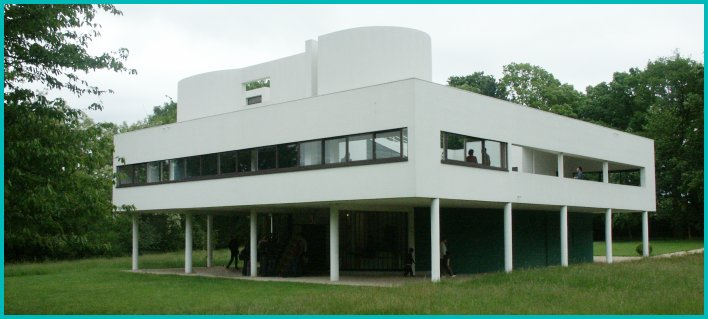 images of villa savoye by le corbusier. Black Bedroom Furniture Sets. Home Design Ideas