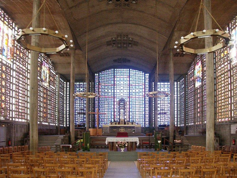 Notre Dame Du Raincy By Auguste Perret