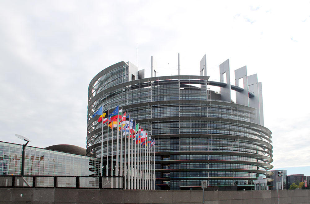 Images of louise weiss building european parliament for Strasbourg architecture