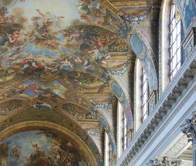 Baroque illusionistic ceiling painting energywarden