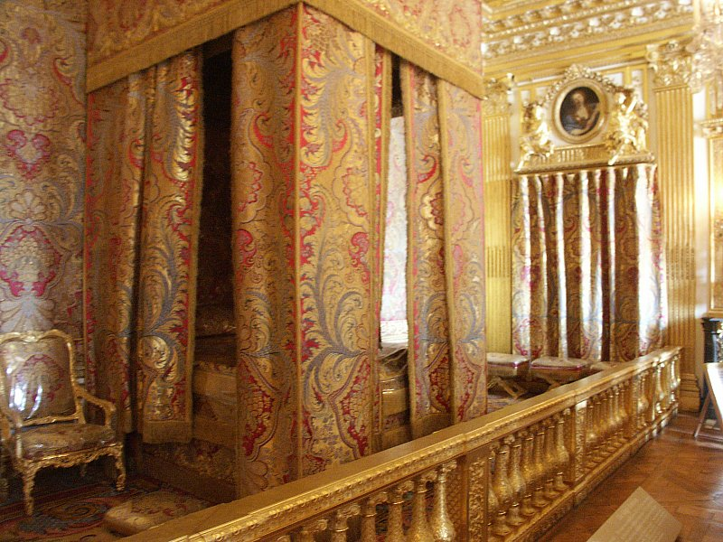 Images Of King And Queens Bedrooms Palace Of Versailles - Queen bedrooms