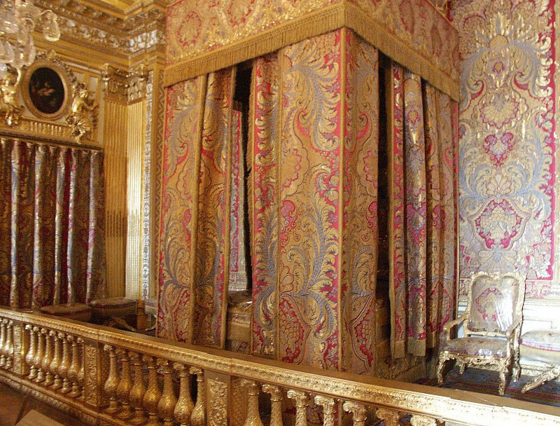 Images Of King And Queen S Bedrooms Palace Versailles France