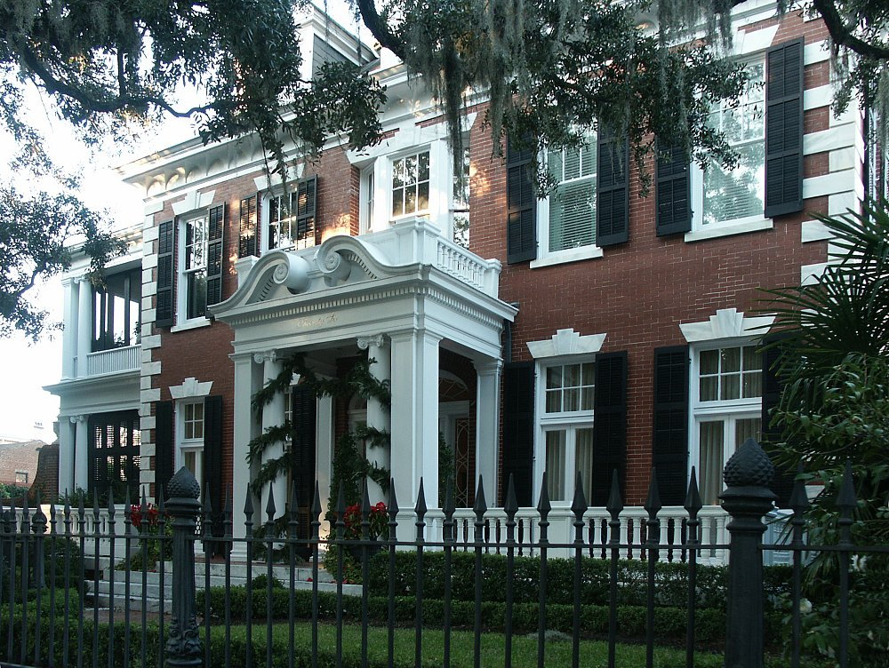 Front Elevation Porch : Images of east gaston street or mills bee lane house