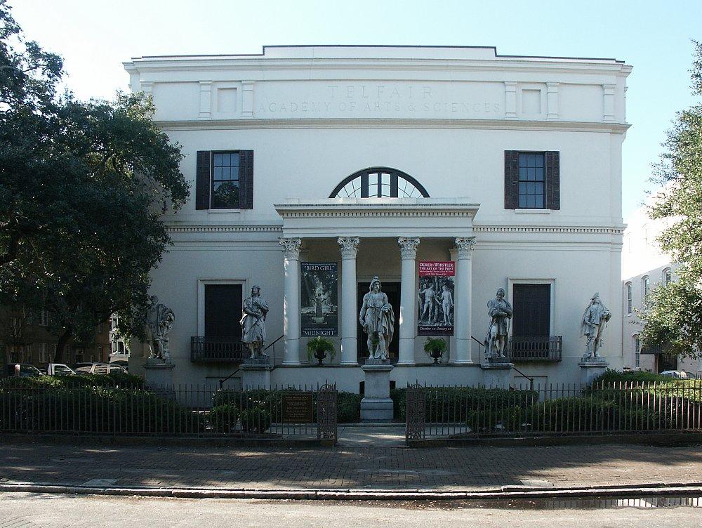 Images Of Alexander Telfair House Savannah Georgia