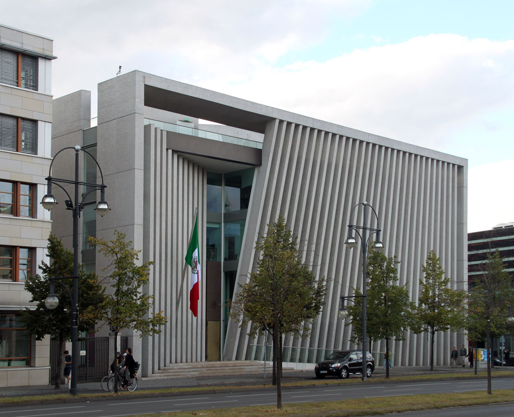 Images Of Mexican Embassy By Teodore Gonzalez De Leon And