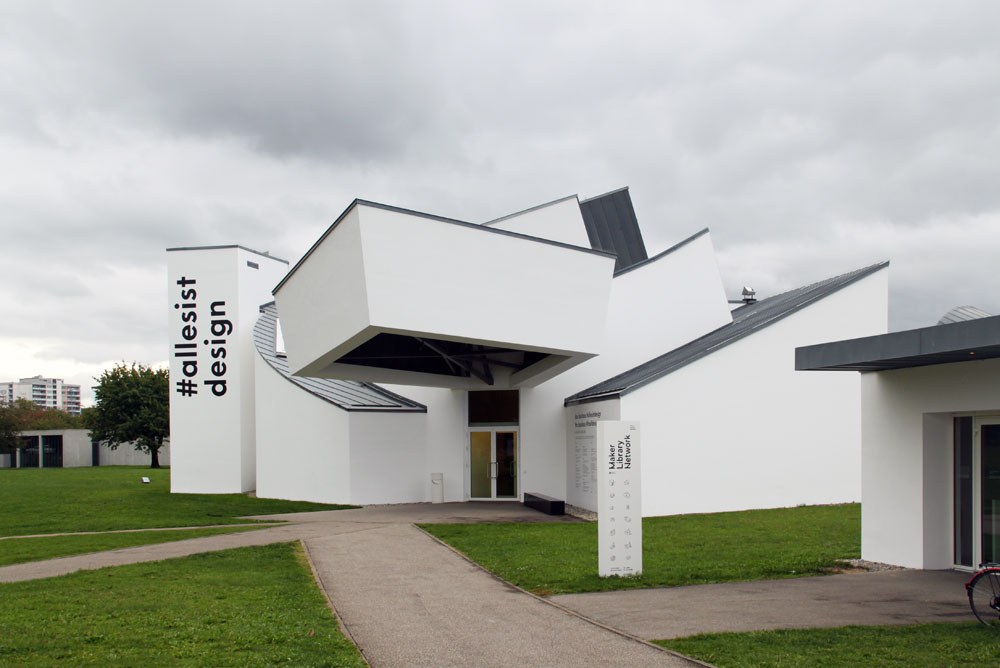Vitra Design Museum Chairs : Images of the Vitra Design Museum, Vitra Campus, by Frank Gehry