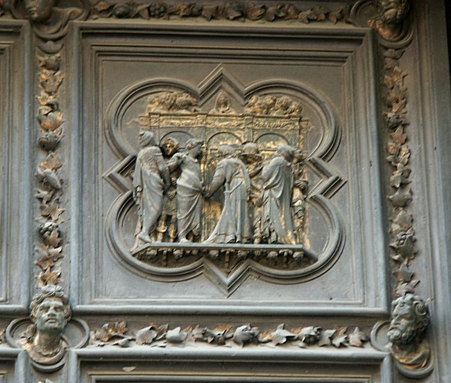 Agony in the & Images of the North Doors by Ghiberti Florence Baptistry ... Pezcame.Com