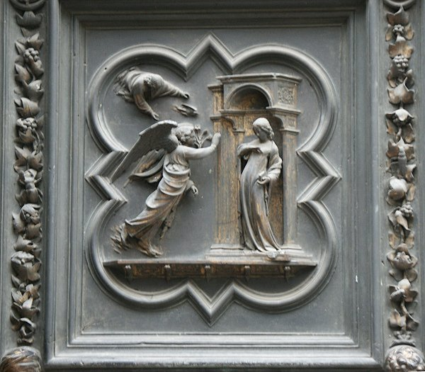 Images Of The North Doors By Ghiberti Florence Baptistry